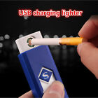 small Rechargeable USB Windproof flameless electric charging Cigarette lighter