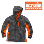 SCRUFFS WORKER Jacket Waterproof Work Coat Grey Raincoat  <br/> ✔ Small - XXL Sizes ✔ VAT RECEIPT ✔ Brand New Stock