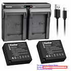 DMW-BLE9 Batteryor Dual Charger for Panasonic Lumix DMC-TZ100 DMC-TZ101 DMC-TZ80