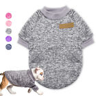 Winter Warm Dog Clothes for Small Dogs Pet Cat Puppy Sweater Hand Knitted Coat