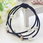 50pcs Cute Elastic Colorful Hair Rope Bands Accessories Headwear Ponytail Holder