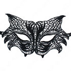 Black Lace Mask Masquerade Eye Face Eyemask Women Party Halloween