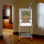 "Manoa Mansion Flattop Bird Cage - 21""W x 16""D x 56""H - With Stand or Without"
