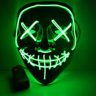 Cosplay Festival EL Mask Costume Party Halloween Light for up Funny Wire LED