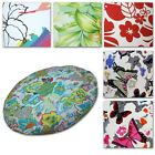 Flat Round Shape Cover*Aster Cotton Canvas Floor Seat Chair Cushion Case*AF3