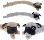 Pug Dog Micro Fleece Draught Excluder Soft Polyester Wind Stopper Cushion 88cm