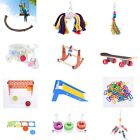 Pet Parrot Bird Swing Rocking Perch Stand Play Toy Cage Hanging Ornament Toys