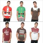 Seasons Greetings Mens Christmas T Shirts Novelty Festive Crew Neck Winter Tees