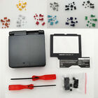 Gray Graphite Housing Shell for GBASP Gameboy Advance SP-Colors Buttons Optional