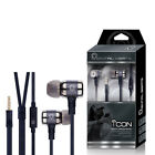 Mental Beats ICON High Quality Earbuds with 4' FT Tangle Free Cable & Mic