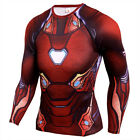 Men's Compression Top Marvel 3D Printing T-shirt Cosplay Cool Dry Tight fit