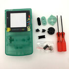 NEW Version Luminous Clear Green Full Housing Shell Case for Game Boy Color GBC