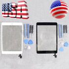 For iPad Mini 1 2 Touch Screen Glass Digitizer Replacement IC Home Button New