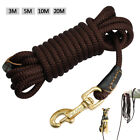 Nylon Rope 10ft-66ft Tracking / Training Dog Lead for Small Medium Large Dogs