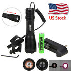 Vastfire IR 940nm White LED Zoom5Mode Flashlight Torch Hunting Lamp+Switch+Mount