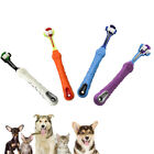 Pets Dogs 3 Side Teeth Cleaning Mouth Brush Puppy ToothBrush Cat Dental Care