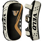 VELO Kick Shield Curved Arm Pad Thai Boxing Strike MMA Focus Muay Punch Mitts