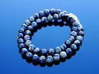 Llanite Que Sera Natural Gemstone Necklace 8mm Beaded Silver 16-30inch Healing