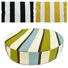 "2""Thick-Round Box Shape Cover*A-Grade Cotton Canvas Chair Seat Cushion Case*LL5"