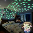 Glow In The Dark Star Wall Stickers Star Moon Luminous Kids Room Home Decor