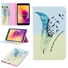 For Samsung Galaxy Tab A 8.0 T380/T385 2017 Leaher Stand Card Slots Case Cover