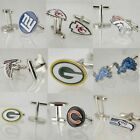 NFL New York Giants Men's Cufflinks Football Team Logo Personalized Gift $11.86 USD on eBay