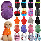 Pet Dog Sweater Clothes Sports Vest Warmer Jumper Coat Hoodie Puppy Apparel US