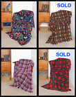 Soft Fleece & Flannel Throw Blankets ~ High Quality ~ Handmade in USA image