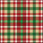 Christmas Plaid #1 Adhesive Vinyl & HTV Sheets