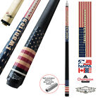 Champion Gator Pool Cue Stick with Low Deflection Shaft, Pool Glove- 314 taper