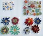 Внешний вид - Small & Large Colorful Flowers,Variations, Broken China Mosaic Tiles