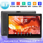 10.1'' 4G 64GB Android 7.0 HD IPS Tablet PC Octa 8 Core WIFI bluetooth 2 SIM