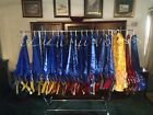 Внешний вид - Lots Of Horse Show Award Ribbons Rosettes Championship Sash Arts Crafts You Pick