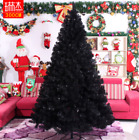 Внешний вид - Black Artificial Christmas Tree Holiday Indoor Plastic Stand Base Xmas Home New