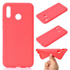 For Huawei Honor Play 8C 8X 7A 7C Slim Soft Silicone Skin Matte Case TPU Cover