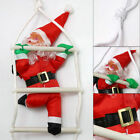 Christmas Santa Claus Climbing On Rope Ladder XmasTree Hanging  Indoor/Outdoor