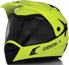 ACERBIS CASCO ACTIVE HELMET MOTARD ENDURO GIALLO YELLOW FLUO URBAN TOURING