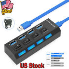 Kyпить 4 Ports Powered USB 3.0 HUB Splitter Box 5Gbps Super External AC Power Adapter на еВаy.соm