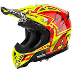 AIROH CASCO HELMET AVIATOR2.2 SIXDAYS 2017 GIALLO NAVARRA CROSS MX ENDUROOFFROAD