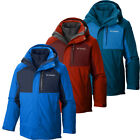 "$260 New Mens Columbia ""Rural Mountain II"" Omni-Heat Interchange Winter Jacket"