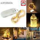 6ft 20 LED Copper Wire Battery String Fairy Light Lamp Wedding Party Xmas Decor