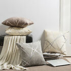 2pcs Luxury Geometric Chenille Cushion Cover Decorative Pillow Covers Cases Gift