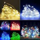 20/30/50/100 Led String Lights Copper Wire Christmas Party Wedding Indoor Decor