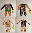 Disney Baby Toddler Mickey Mouse Pajamas Halloween Glow In Dark Boys Many Styles
