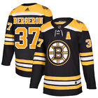 37 A Patrice Bergeron Jersey Boston Bruins Home Adidas Authentic