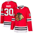 30 Cam Ward Jersey Chicago Blackhawks Home Adidas Authentic