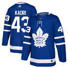 43 Nazem Kadri Jersey Toronto Maple Leafs Home Adidas Authentic