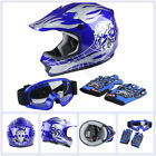 DOT Youth Helmet Child Kids Motorcycle Full Face Spiderman Offroad Dirt Bike ATV
