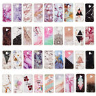 Marble soft TPU Back Case phone Cover For Samsung galaxy S9Plus A8 A6 Plus 2018
