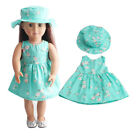 US Stock Doll Clothes Dress Outfits Pajames For 18 inch Xmas Gift Dress Shoes